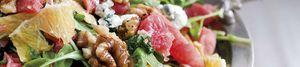 Menú Nochebuena: Ensalada de naranja, nueces y queso