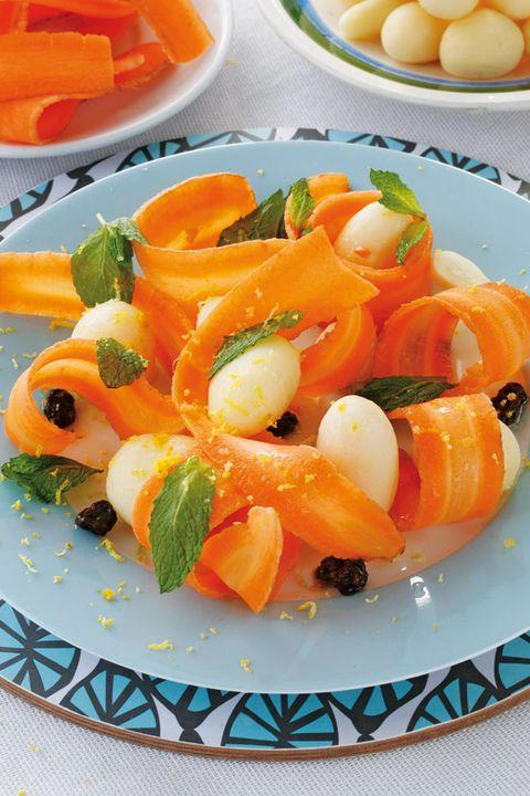 ensalada de zanahorias y patatas
