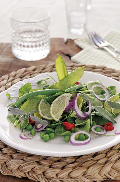 ensalada verde de judías