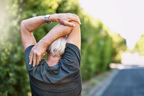 Ensuring less chance of injury during his workout