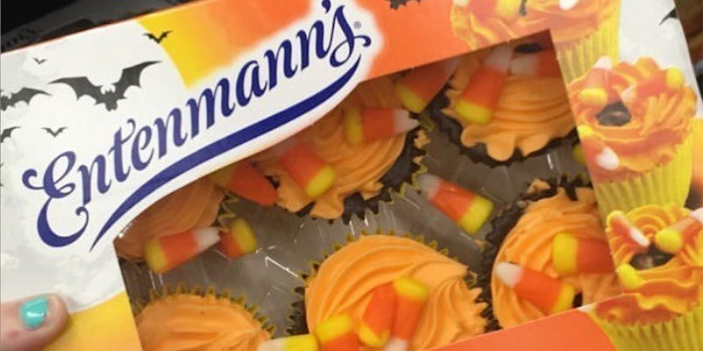 Entenmann's Halloween Golden Cupcakes Are Back, So You Can Get Your Candy Corn Fix