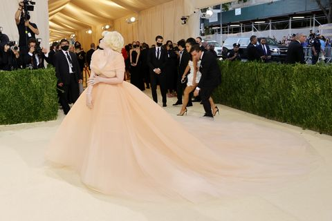 billie eilish at the 2021 met gala celebrating in america a lexicon of fashion