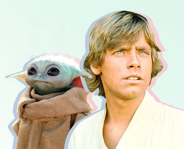 baby yoda luke skywalker