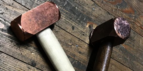 Antique tool, Hammer, Mallet, Stonemason's hammer, Tool, Splitting maul, Hatchet, Sledgehammer, Ball-peen hammer, Dane axe,