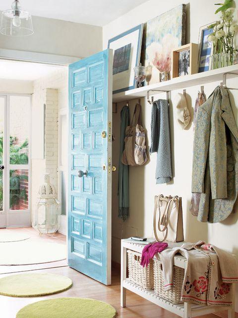Room, Shelf, Furniture, Interior design, Shelving, Pink, Turquoise, Closet, Home, Building,