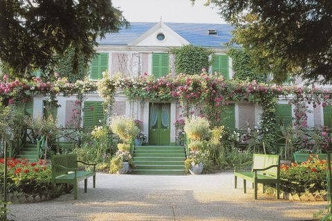 Claude Monet's house and garden, Giverny, Upper Normandy, France