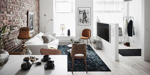 Apartamento de estilo nórdico renovado