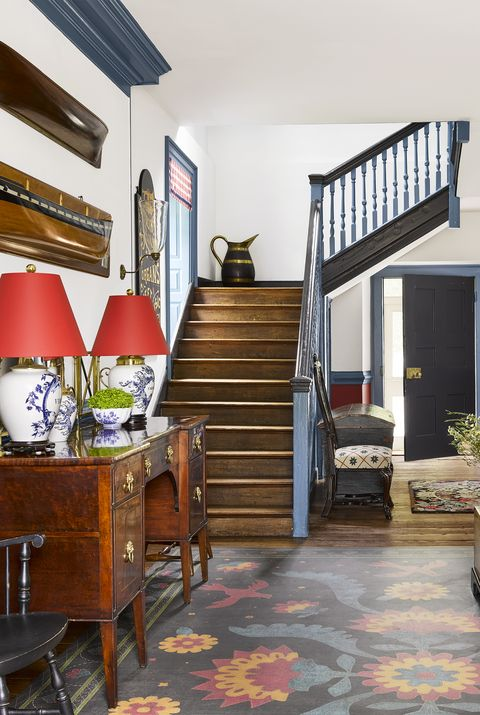 entryway foyer ideas - antique finds