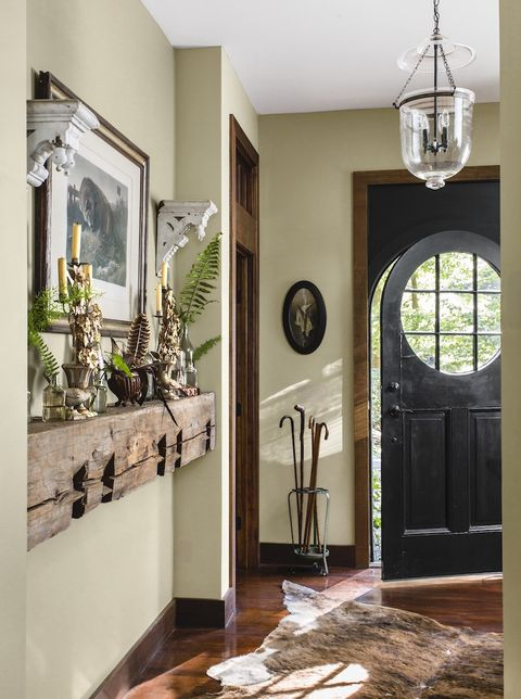 taupe paint colors entryway