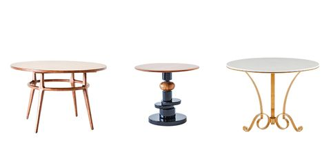 Furniture, Table, Coffee table, Outdoor table, End table, Stool, Material property, Oval, Metal,