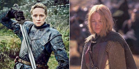 """Doce similitudes entre """"Game of Thrones"""" y """"El señor de los anillos"""""""