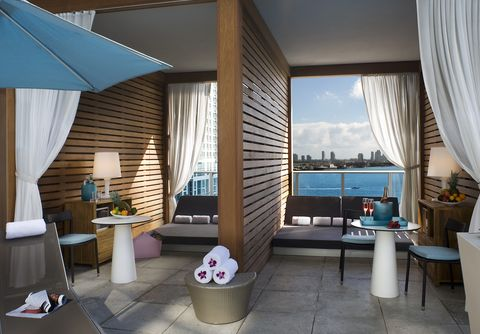 Room, Property, Building, Furniture, Interior design, Suite, Architecture, Resort, House, Balcony,