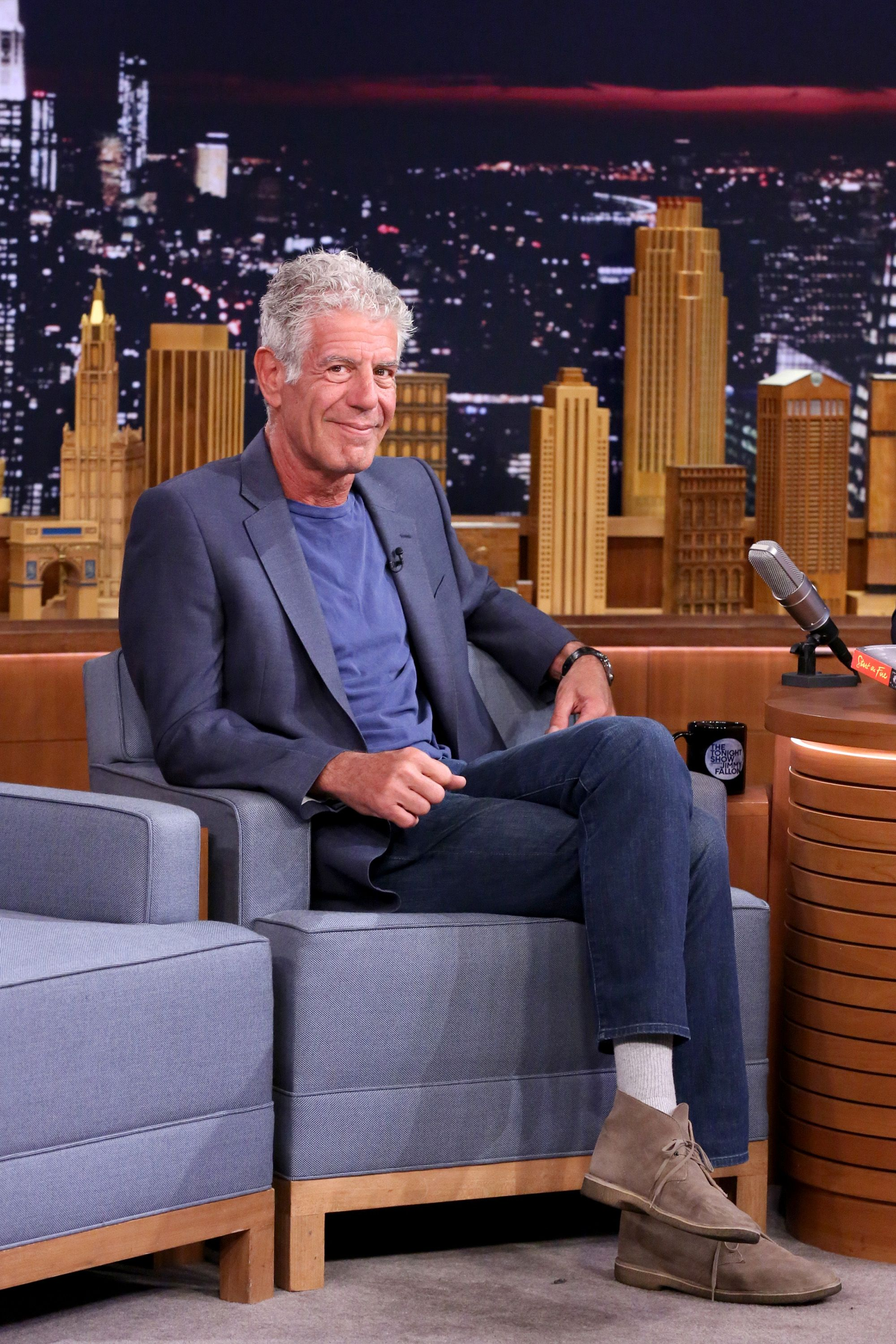 The Timeless, Stylish Boots Anthony Bourdain Wore Everywhere