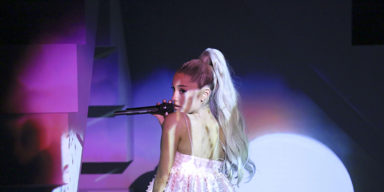 Ariana Grande ex references new