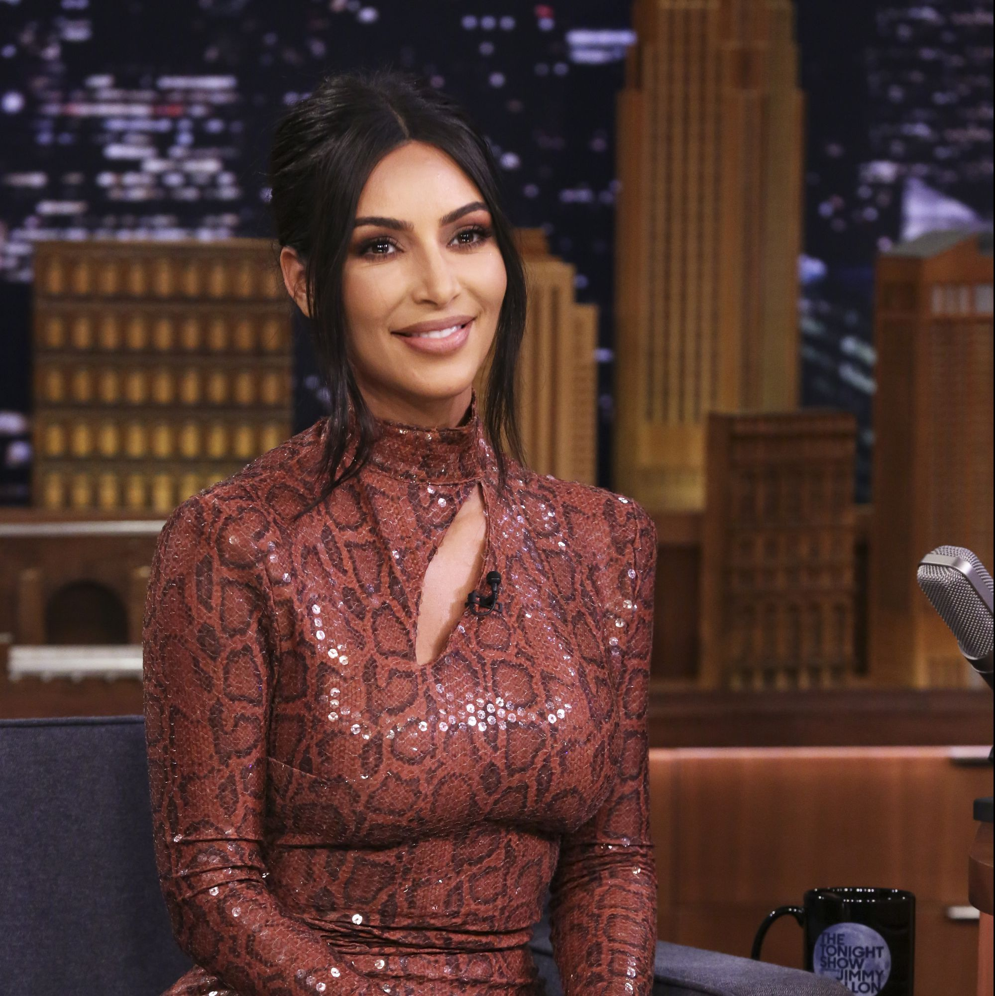 Kim Kardashian Finally Explains Her Basin-Less Sink