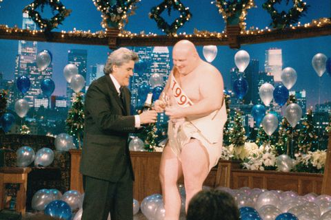 History of Baby New Year - Tonight Show New Year's 1997
