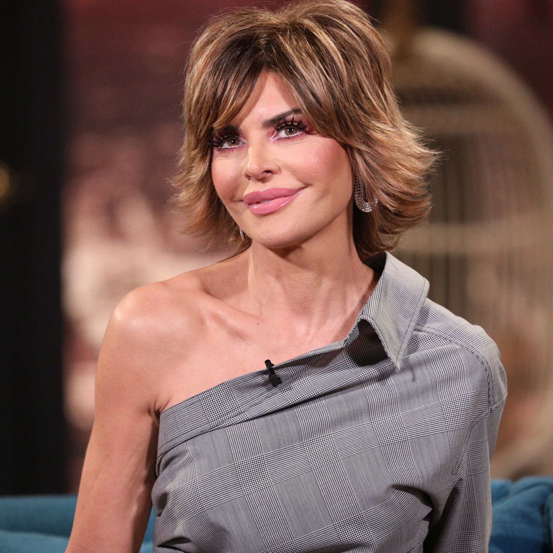 Lisa Rinna Just Posted a Bikini Photo on Instagram and Her Abs Look AMAZING