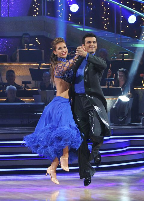 "abc's ""dancing with the stars""   season 11   week two"