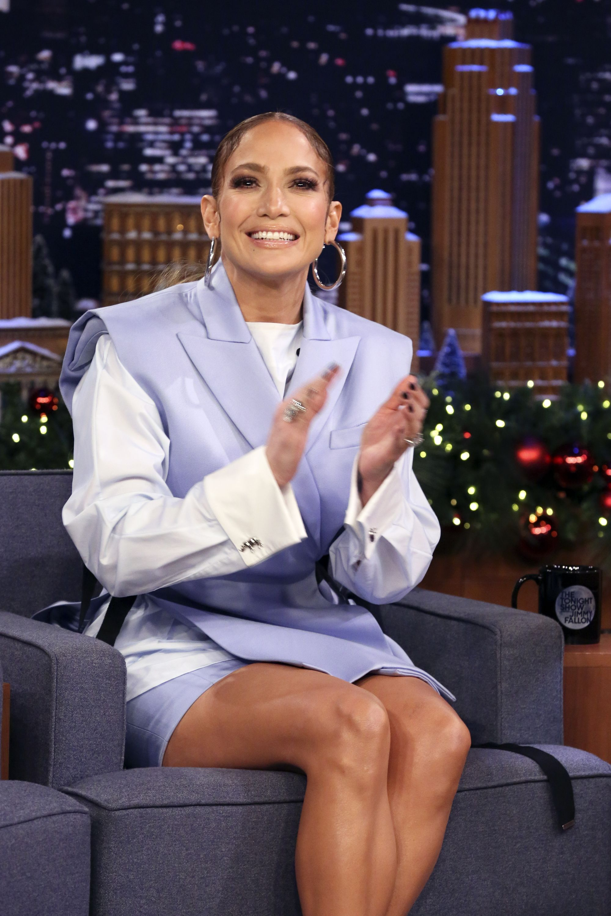 Jennifer Lopez Does Hilarious Impression of Every OTT Fitness Instructor You've Ever Had