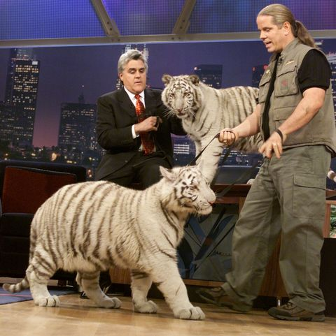 Doc Antle onThe Tonight Show with Jay Leno - Season 9