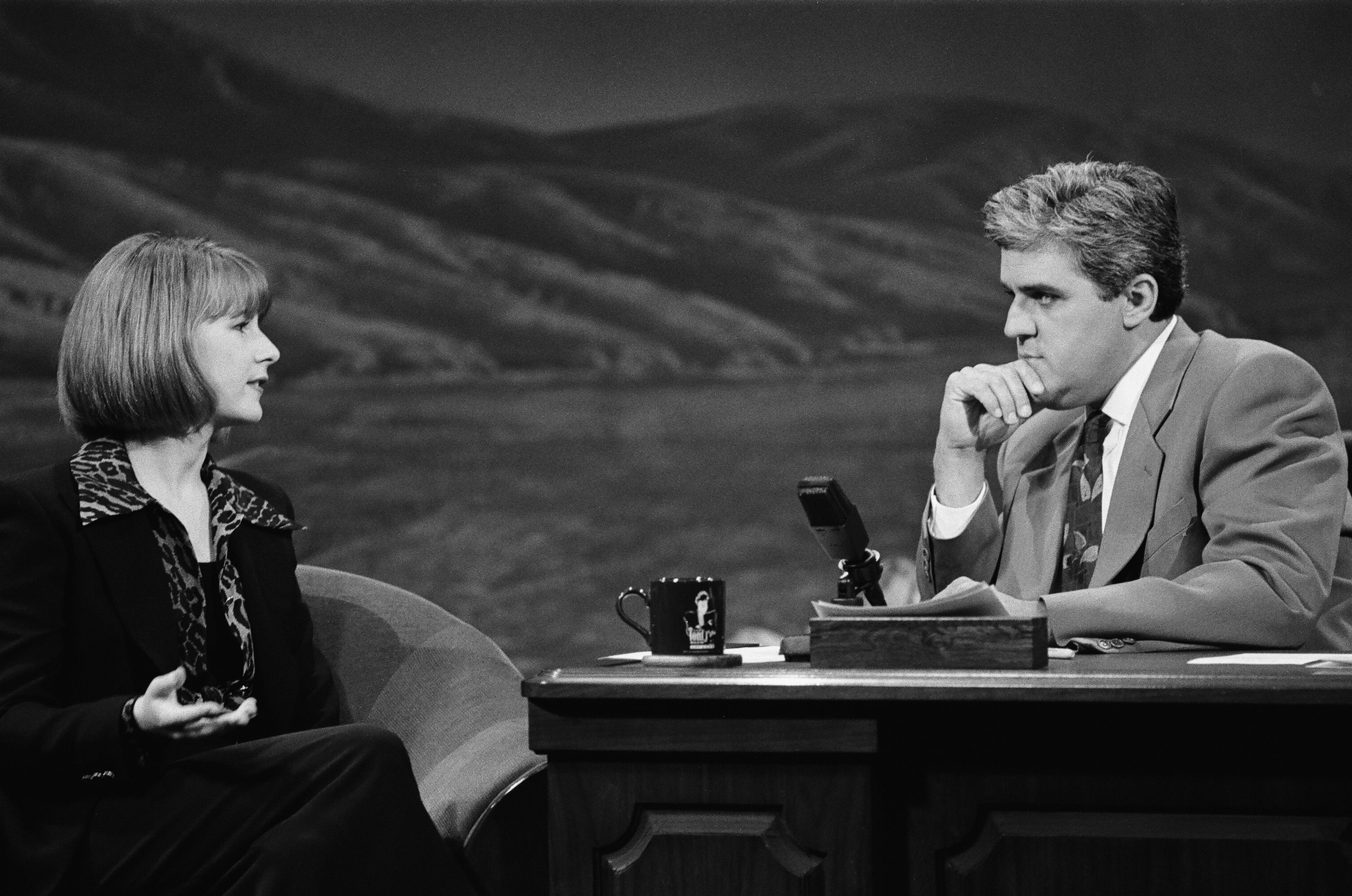 Tabitha Soren on The Tonight Show with Jay Leno in 1992.