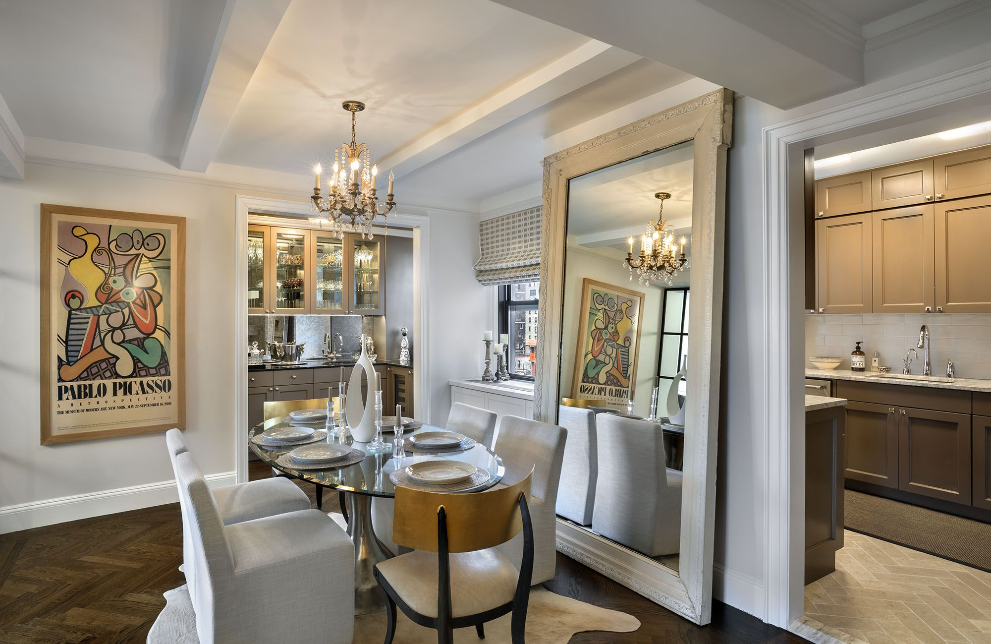 Inside a Chanel Fashion Executive's High-Glam Sutton Place Home