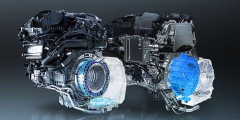 motores mercedes miocrohibridos