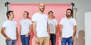 Los cinco fundadores de Cabify