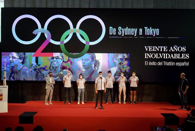 equipo españa de triatlón en los juegos olímpicos de tokio 2020