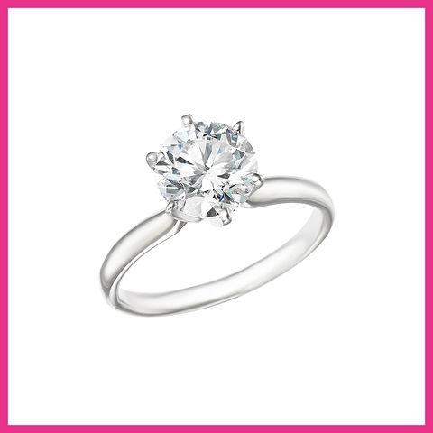 Ring, Engagement ring, Pre-engagement ring, Platinum, Diamond, Jewellery, Body jewelry, Fashion accessory, Wedding ring, Wedding ceremony supply,