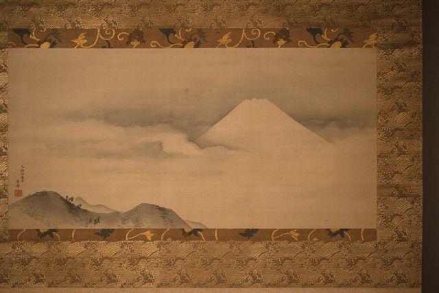 円山応挙《富士図》1795年