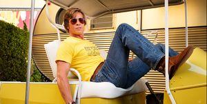 Brad Pitt, fotograma de la película 'Érase una vez en Hollywood'