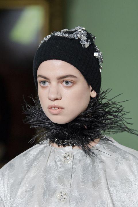 erdem tendenza cappello da donna autunno inverno 2020 2021