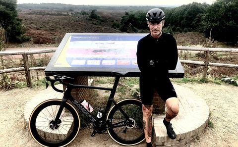 Eric corton, column, pijn, wielrennen, regen
