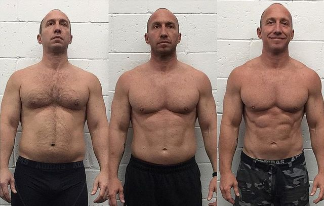 transformación física fitness
