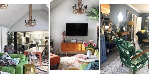 How to mix clashing prints and colours in your home, according to an interior blogger