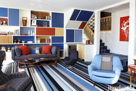 Color-Blocking and Bold Patterns Bring Funk to This Designer\'s Work