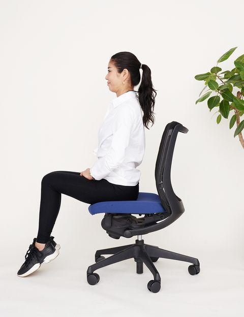 Office chair, Sitting, Chair, Furniture, Leg, Comfort,