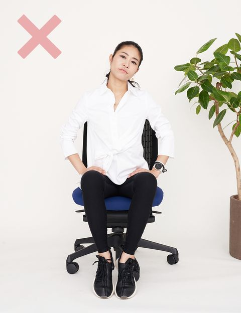 Office chair, White, Product, Sitting, Chair, Furniture, Arm, Leg, Photography, Neck,