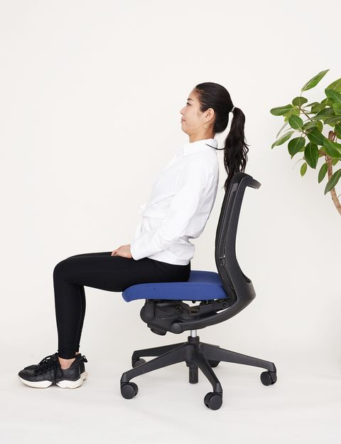 Office chair, Sitting, Chair, Furniture, Leg, Comfort, Gesture,