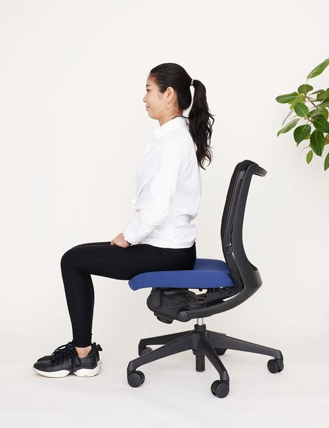 Office chair, Sitting, Chair, Furniture, Leg, Comfort,