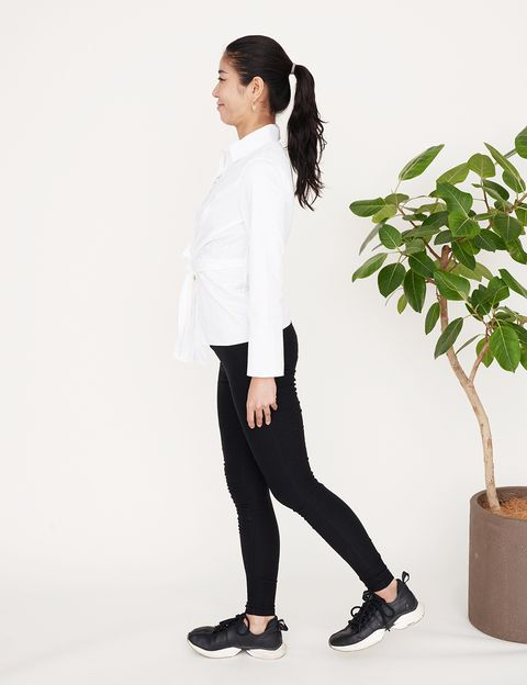 White, Clothing, Black, Standing, Shoulder, Sleeve, Neck, Outerwear, Footwear, Waist,