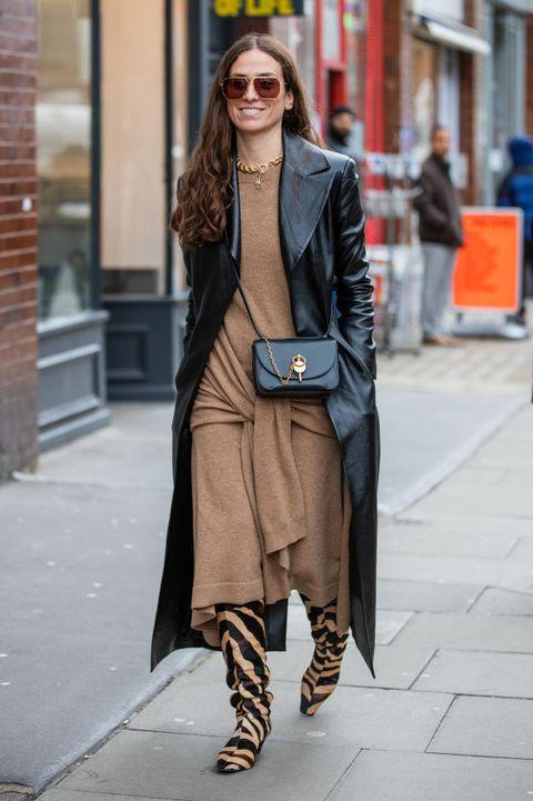 エリカ・ボルドリン(Erika Boldrin)Street Style - LFW February 2020