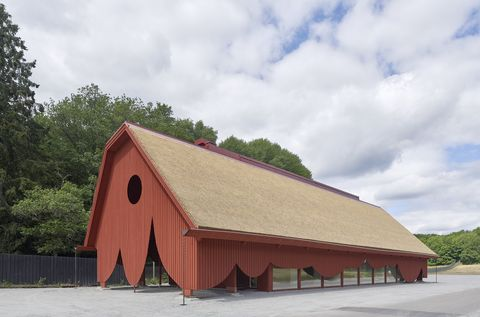Roof, Architecture, Building, House, Barn, Rural area, Sky, Tree, Church, Wood,