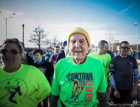 People, Green, Yellow, Sky, Crowd, Community, Half marathon, Fun, Recreation, Team,