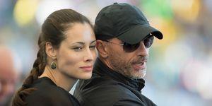 Eros Ramazzotti y Marica Pellegrinelli 'World Cup' Río de Janeiro