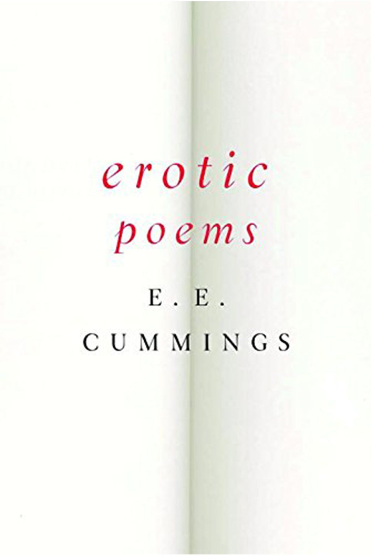 'Erotic Poems' by E. E. Cummings