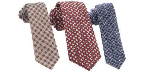 Tie, Brown, Pattern, Fashion accessory, Design, Beige,