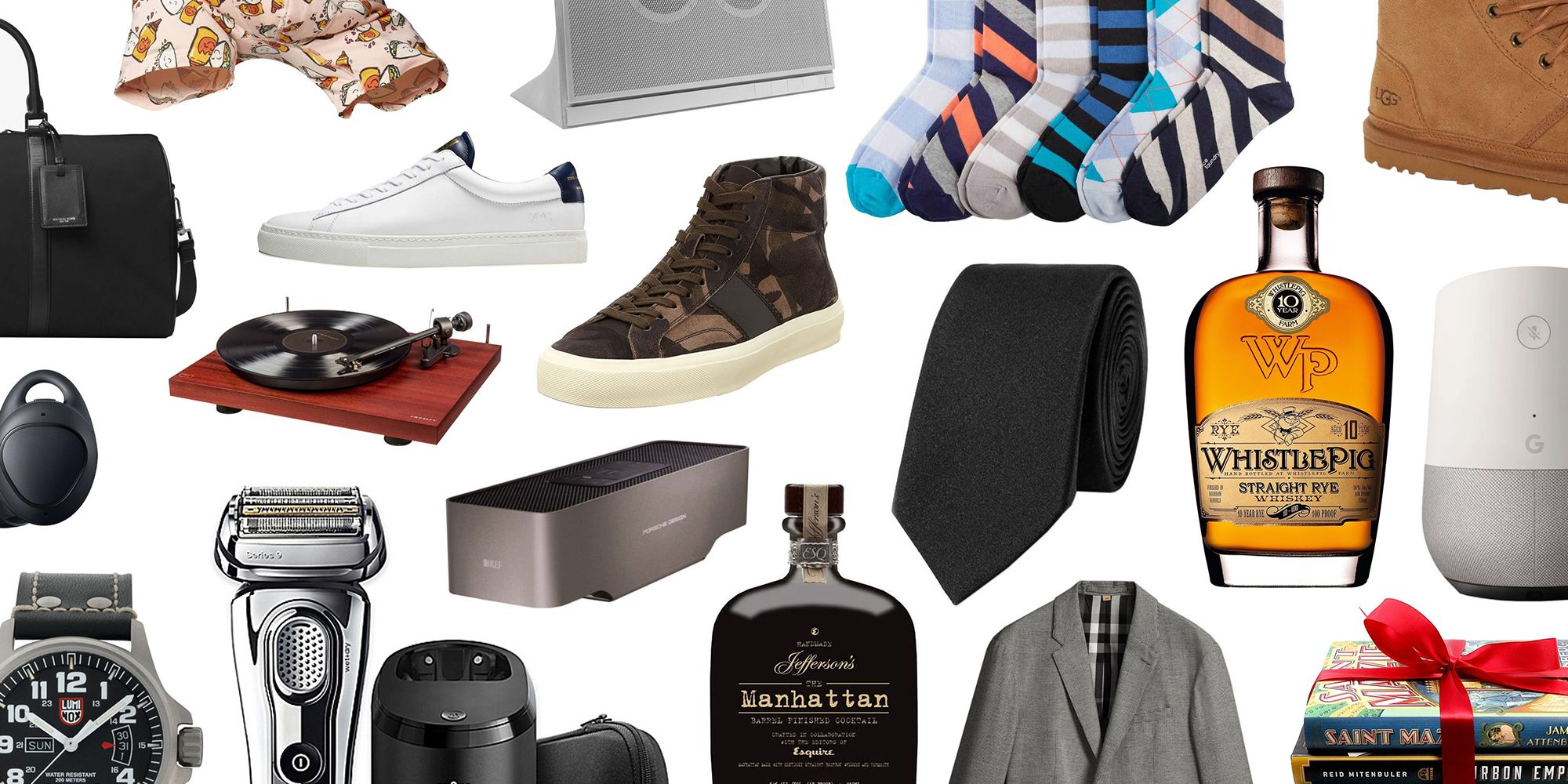 From Clothes And Accessories To Booze And Tech Gear, Hereu0027s What To Get Him.