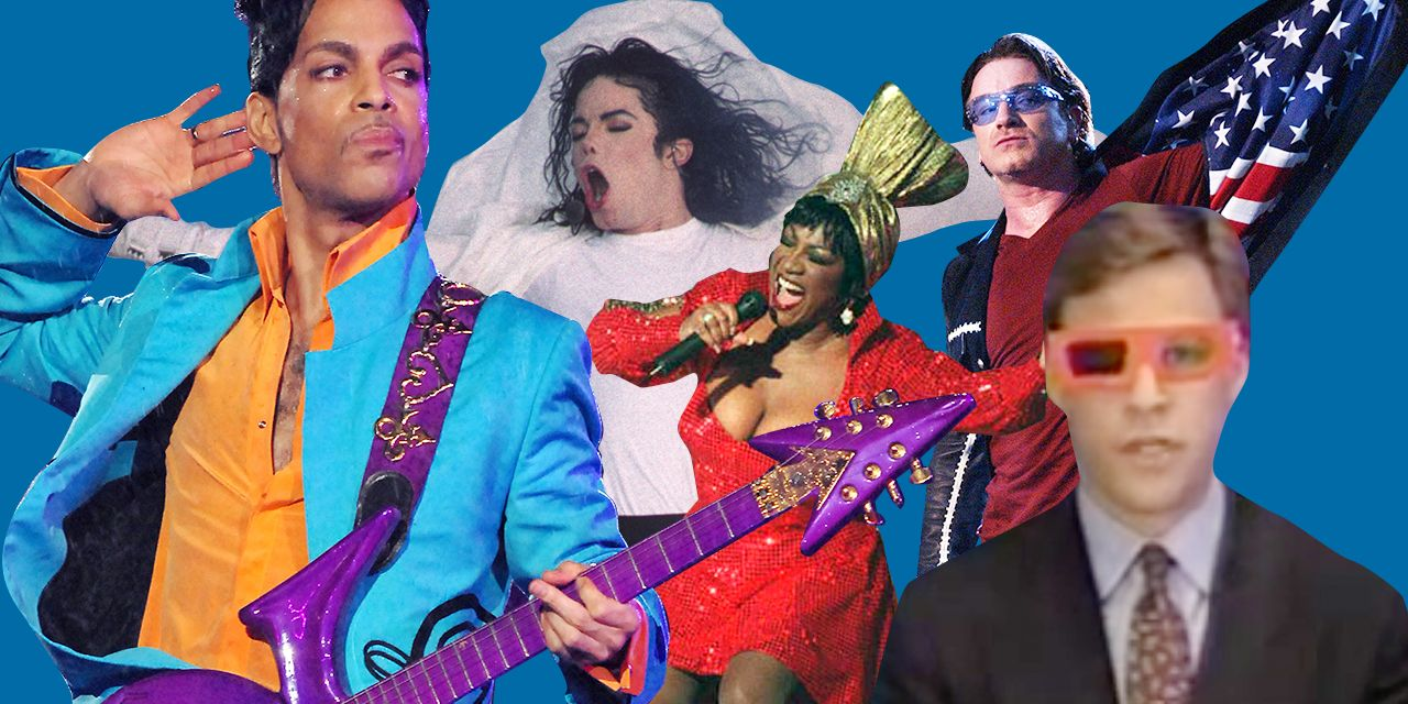 10 most memorable super bowl halftime shows of all time